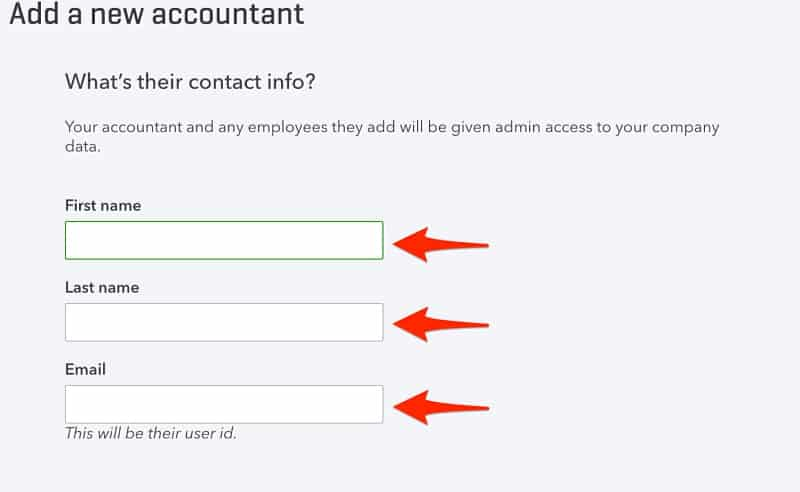 Manage Users in QuickBooks Online